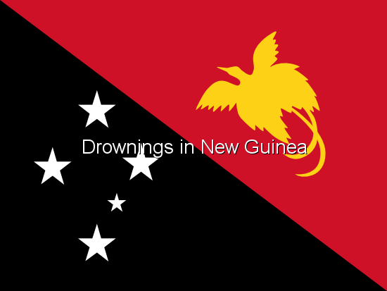 Drownings in New Guinea