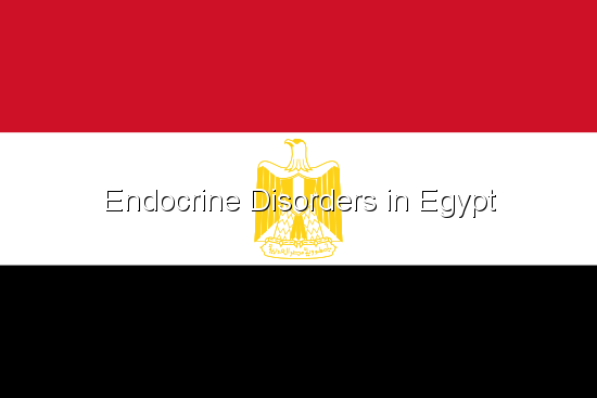 Endocrine Disorders in Egypt