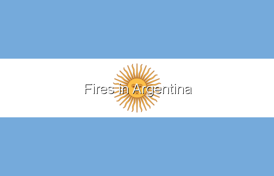 Fires in Argentina