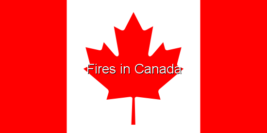 Fires in Canada