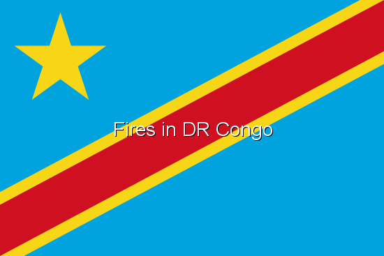 Fires in DR Congo