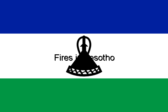 Fires in Lesotho