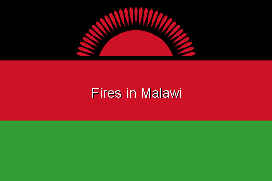 Fires in Malawi