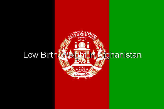 Low Birth Weight in Afghanistan