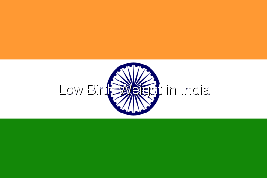 Low Birth Weight in India