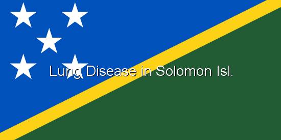 Lung Disease in Solomon Isl.