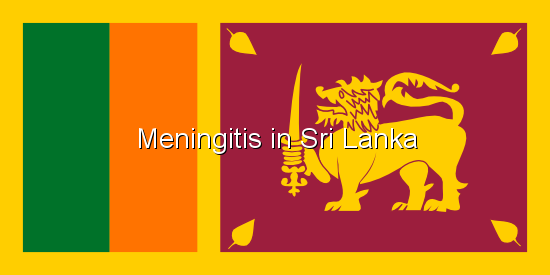Meningitis in Sri Lanka