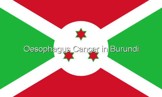 Oesophagus Cancer in Burundi