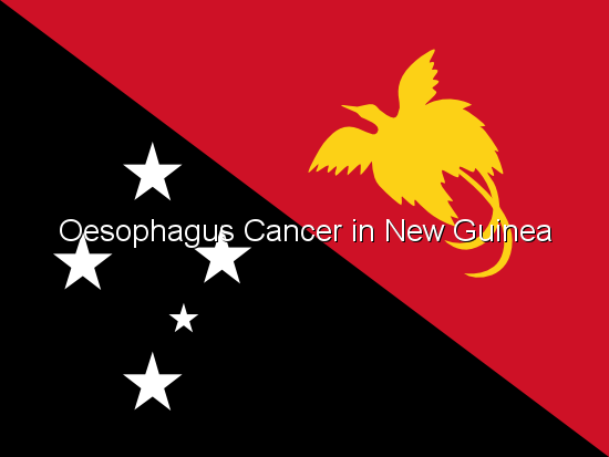 Oesophagus Cancer in New Guinea