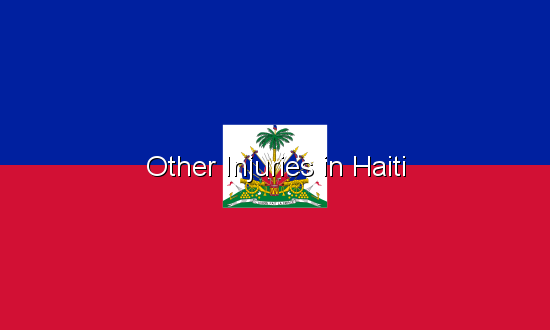 Other Injuries in Haiti