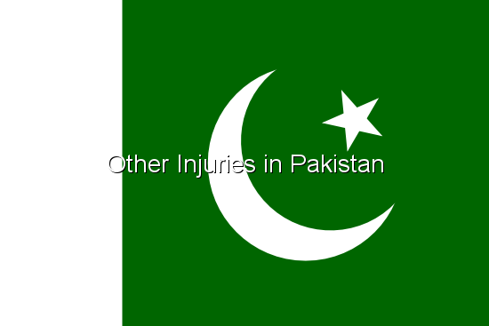 Other Injuries in Pakistan