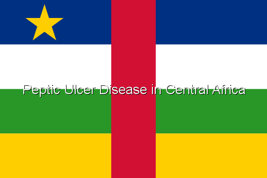 Peptic Ulcer Disease in Central Africa