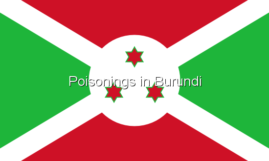 Poisonings in Burundi