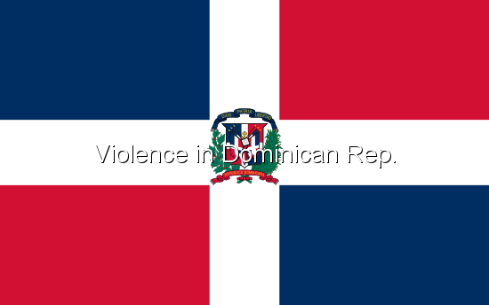 Violence in Dominican Rep.