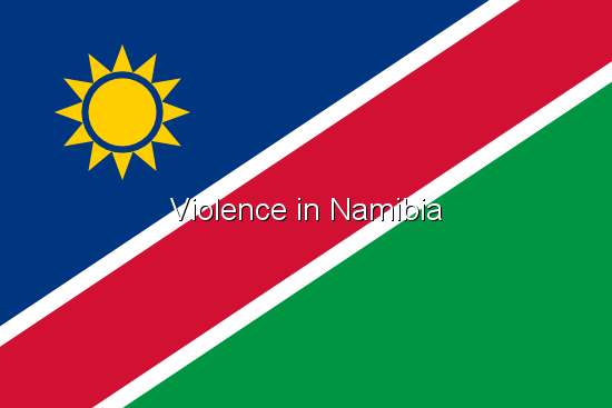 Violence in Namibia