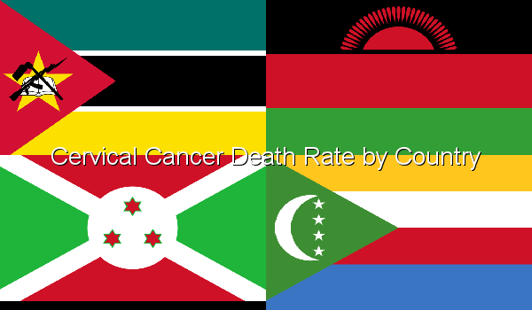 Cervical Cancer Death Rate by Country