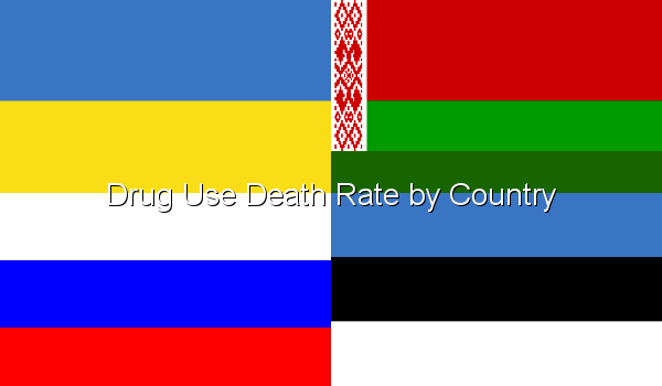 Drug Use Death Rate by Country