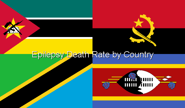 Epilepsy Death Rate by Country