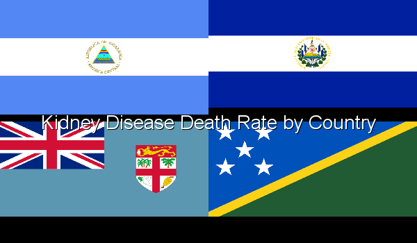 Kidney Disease Death Rate by Country