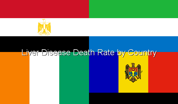 Liver Disease Death Rate by Country