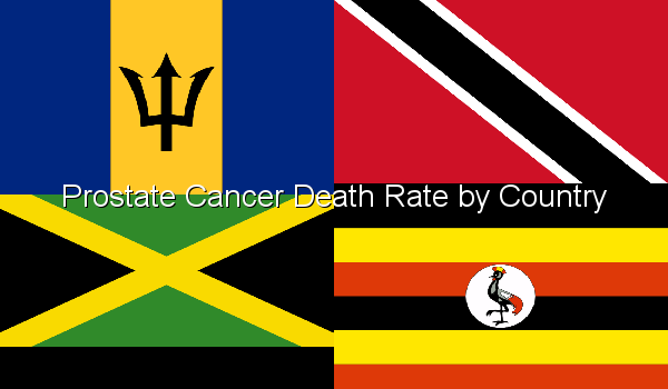 Prostate Cancer Death Rate by Country
