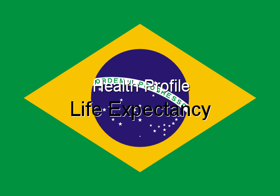 Health Profile, Life Expectancy for Brazil