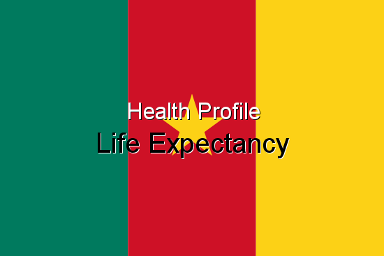 Health Profile, Life Expectancy for Cameroon