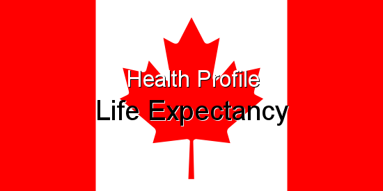 Health Profile, Life Expectancy for Canada