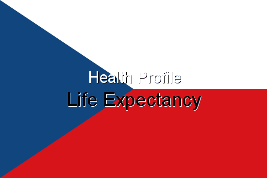 Health Profile, Life Expectancy for Czech Republic