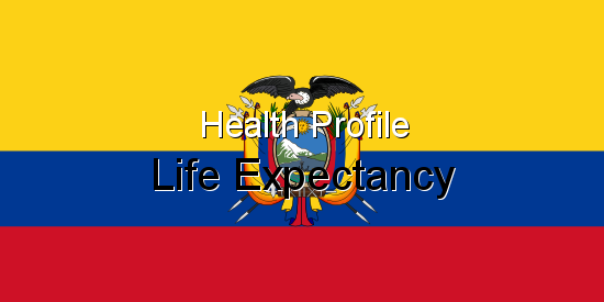 Health Profile, Life Expectancy for Ecuador