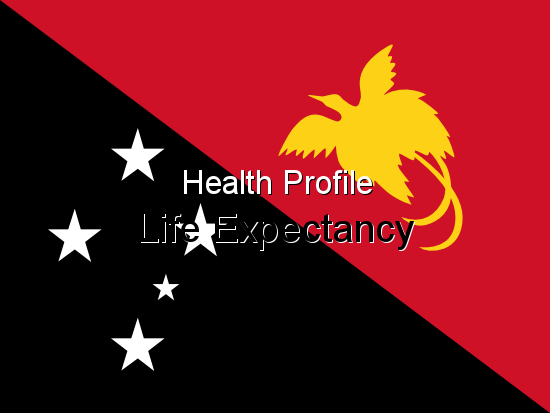 Health Profile, Life Expectancy for New Guinea
