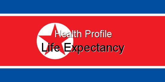 Health Profile, Life Expectancy for North Korea
