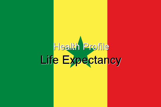 Health Profile, Life Expectancy for Senegal
