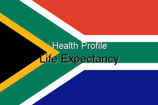 Health Profile, Life Expectancy for South Africa