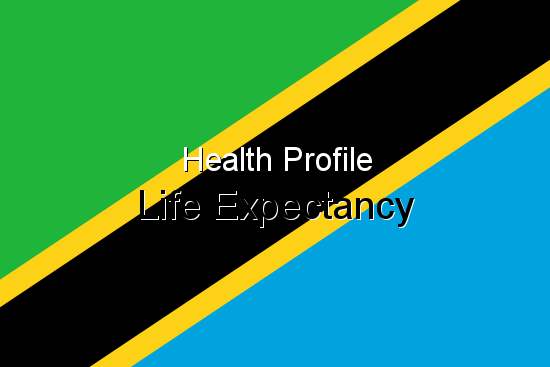 Health Profile, Life Expectancy for Tanzania