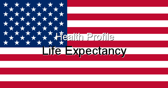 Health Profile, Life Expectancy for United States